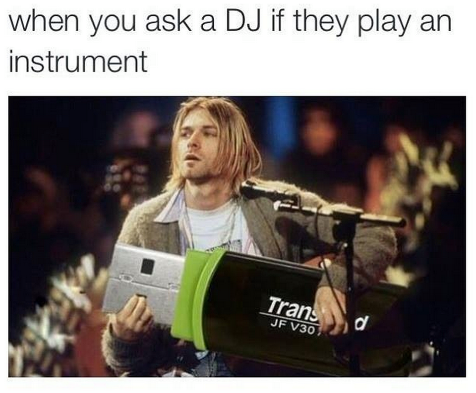 77bb807dbc19f895c27ec7f17253ae6e dj usbstick 500x413 when you ask a dj if they play an instrument