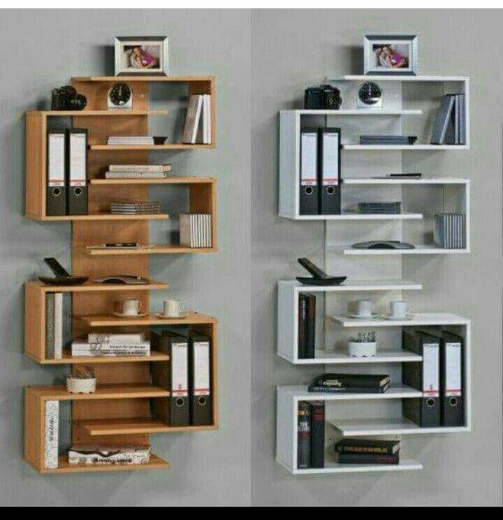 Libreros decoracion en 2019 mueble repisa muebles - Libreros de madera modernos ...