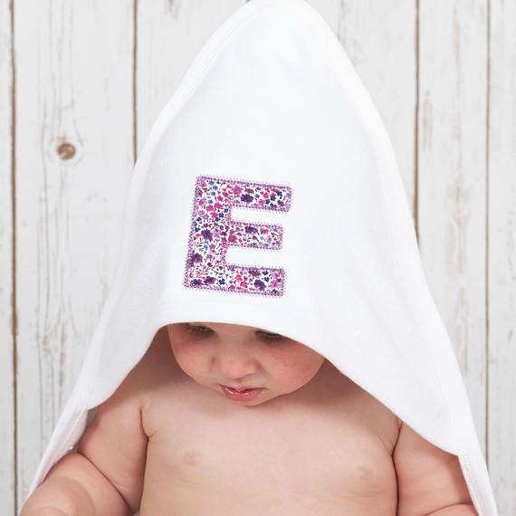 Liberty baby towel hooded baby towel personalised baby towel baby liberty baby towel hooded baby towel personalised baby towel baby girl towel negle Gallery
