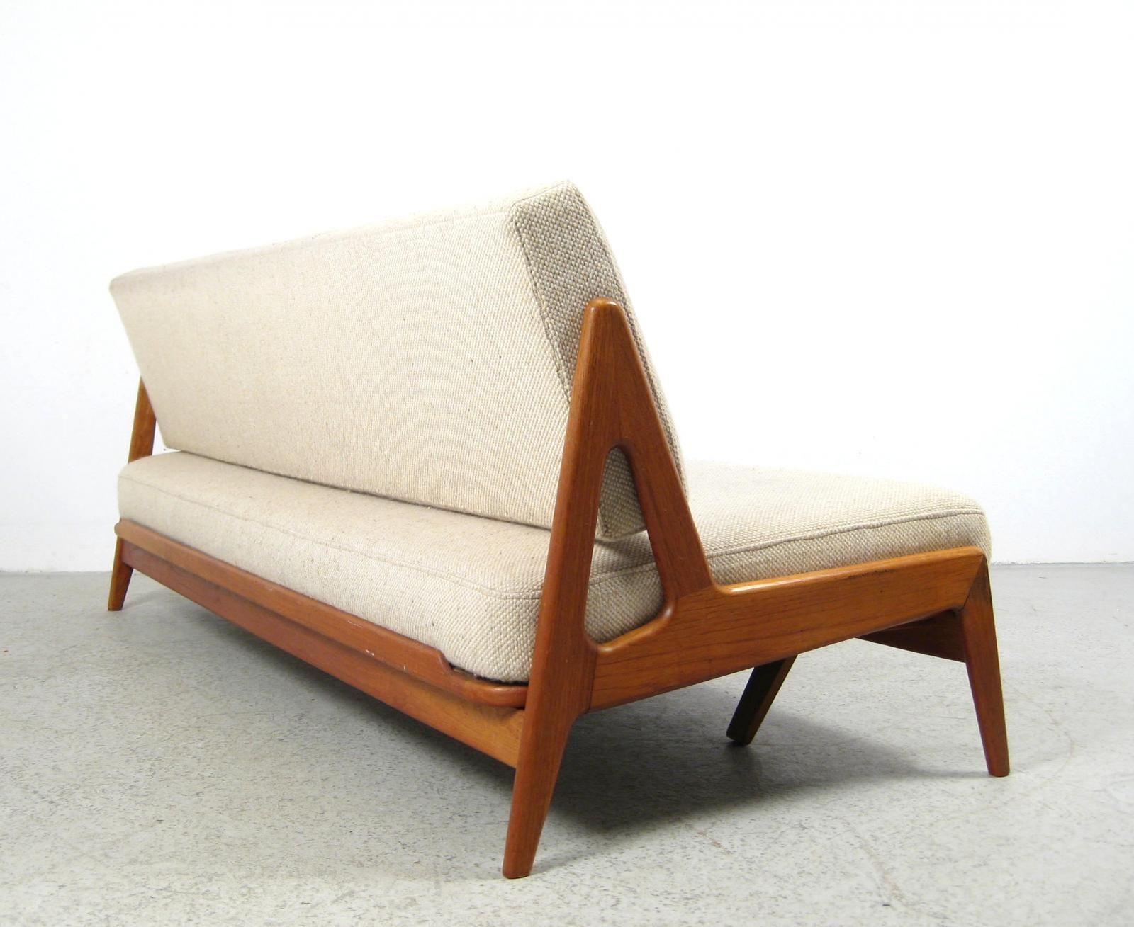 Arne Wahl Iversen Teak Daybed For Thysen Nielsen 1956 Scandinavian Furniture Design Usa Furniture Scandinavian Furniture
