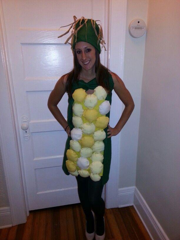 Ear of corn costume corn on the cob diy do it yourself halloween ear of corn costume corn on the cob diy do it yourself halloween 2013 solutioingenieria Gallery