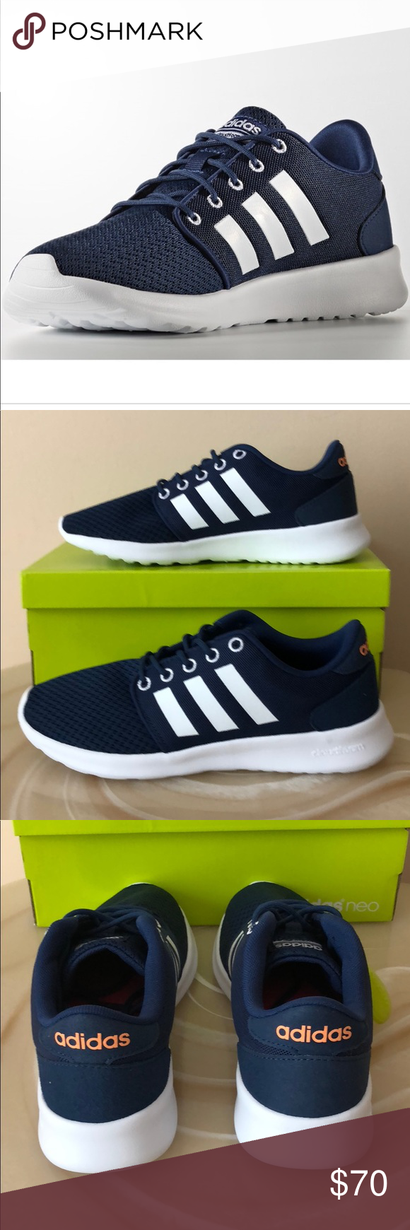 Adidas cloudfoam memory footbed shoes