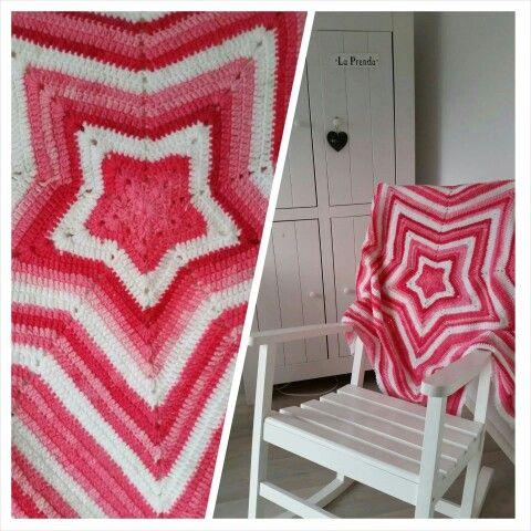 Ster Deken Haken Kerst Pinterest Crochet Blanket And Amigurumi