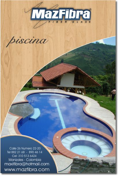 piscina-casa-mazfibra-manizales ampliacion hostal Pinterest
