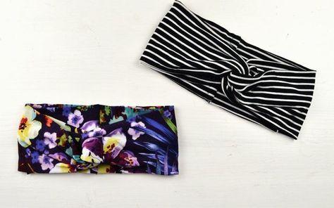 du bist n h anf nger und suchst nach deinem ersten projekt n he dir ein einfaches turban. Black Bedroom Furniture Sets. Home Design Ideas
