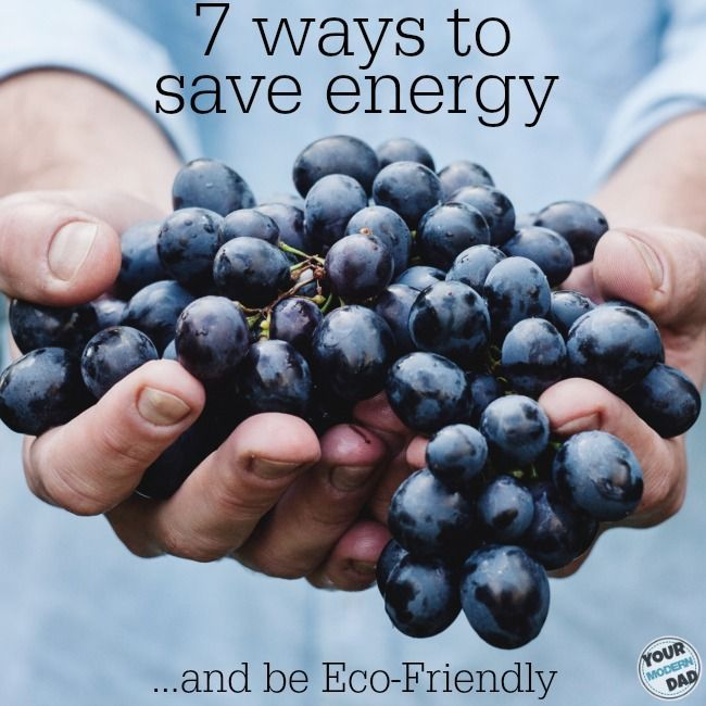 7 ways to save energy