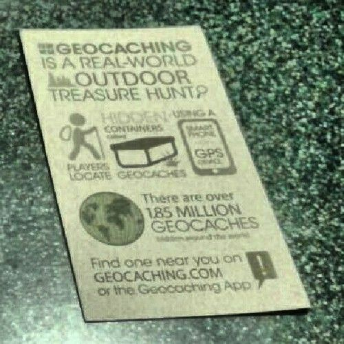 Thinking of making some of these myself... Geocaching