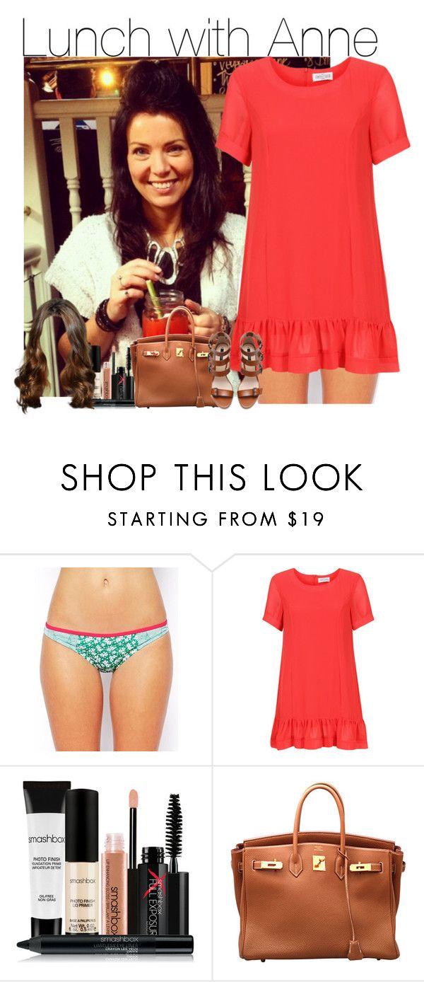 """Sem título #962"" by vicmiranda ❤ liked on Polyvore featuring Piha, Smashbox, Hermès, Zara, women's clothing, women, female, woman, misses and juniors"