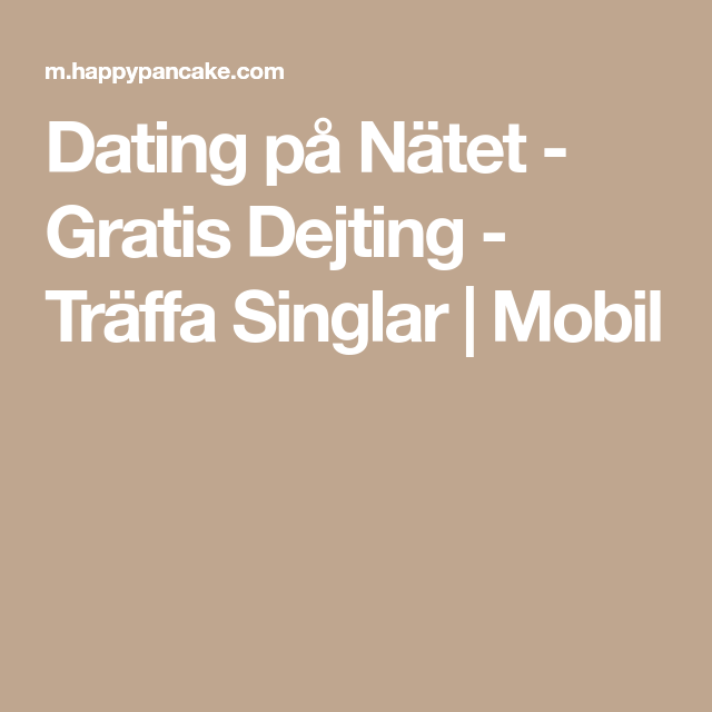 Gratis internet dating Sydafrika