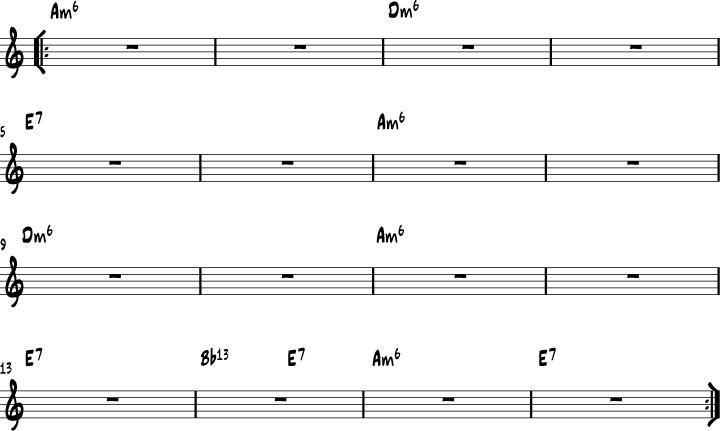 Minor Swing chord progression | Music | Pinterest | Gypsy jazz, Jazz ...