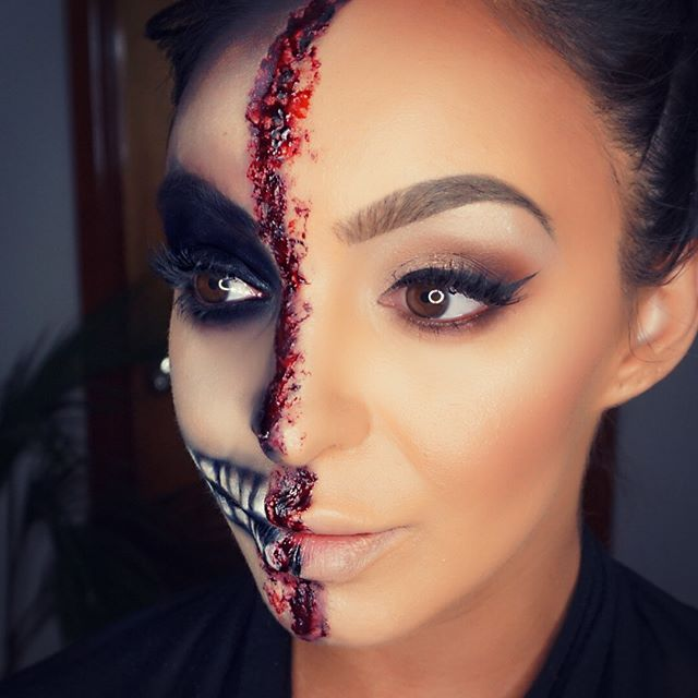 Tonights Special Effects Makeup Half Glam Half Gore