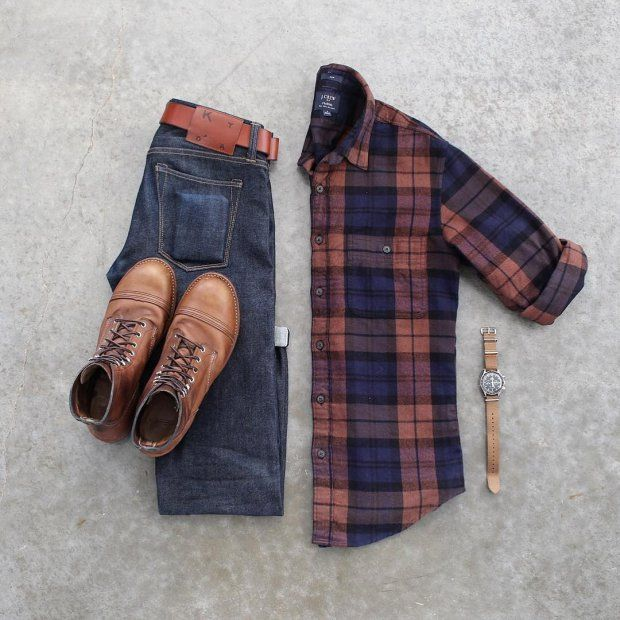 4 Outfits Grids For Stylish Guys