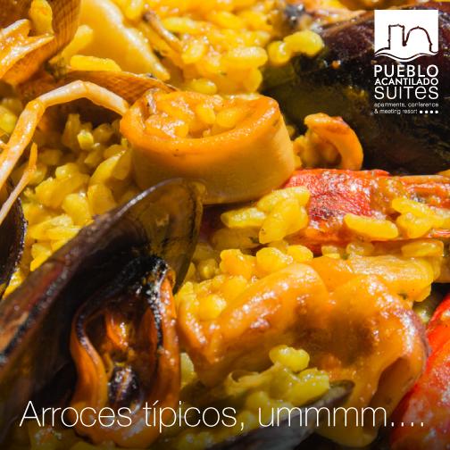 Si quieres disfrutar de un buen arroz, en nuestros restaurantes acantilados: El Pontet y la Taberna de Don José, te sorprenderán gratamente