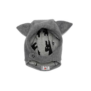 Beau Loves - Hat with ears (grey)