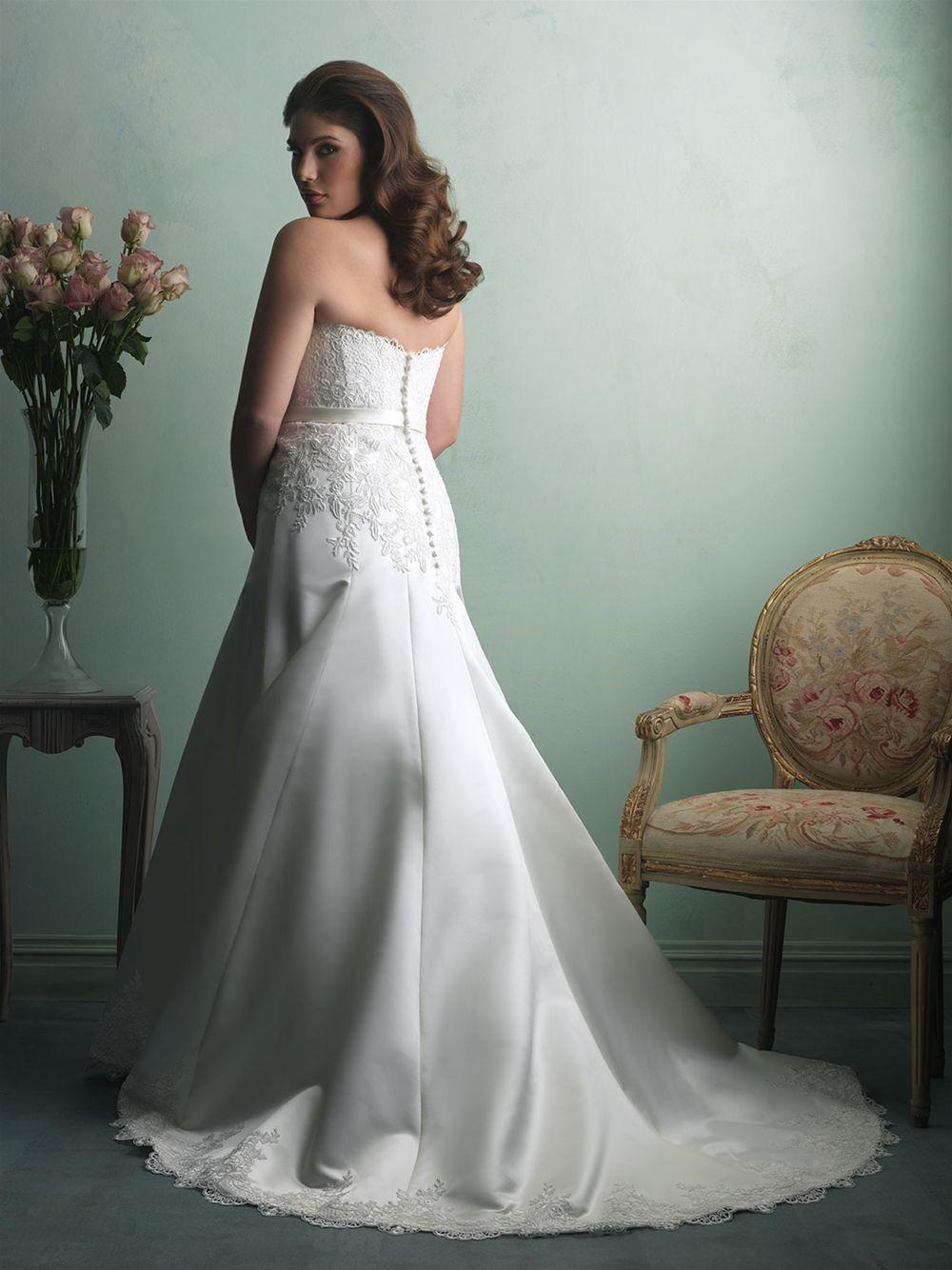 Allure wedding dress  Allure Bridals Style W  ALLURE W O M E N  Pinterest  Allure