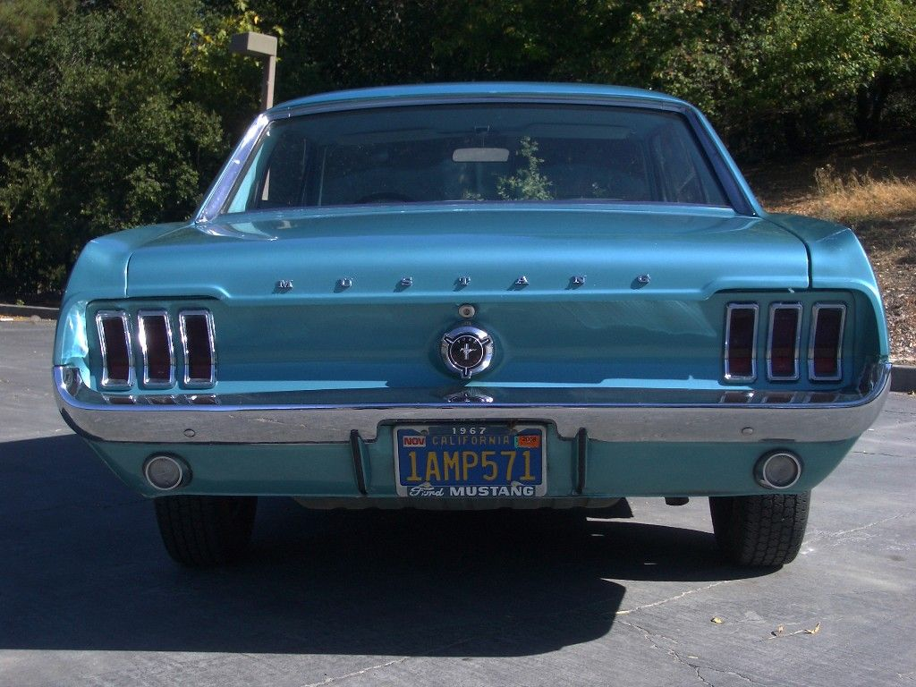 Clearwater Aqua Green 1967 Mustang Hardtop | Carz and Other Vehicles