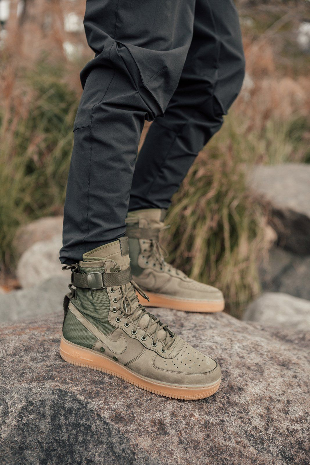a6fcf1189952df Kith partners with Nike to shoot an editorial to launch the all-new SF AF-1  collection. The Air Force 1 s classic design has been the foundation for a  ...