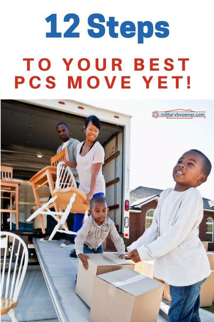12 Steps to Your Best PCS Move Yet Pcs move, Pcs