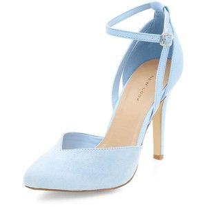 Pale Blue Ремешки Остроконечные каблуки | Обувь | Pinterest ...