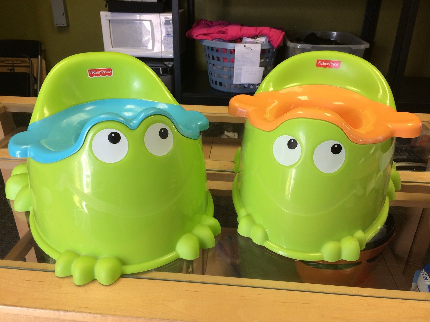 frog potty chair or stool fisher price make training fun with these chairs click the link below for more details about this item