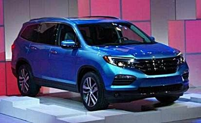 2017 Honda Pilot Redesign, Release and Changes