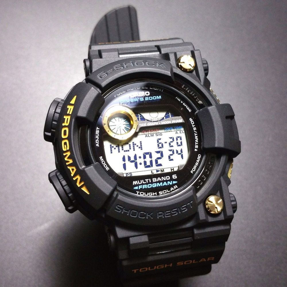 3ecf6a06aa9 G-SHOCK BRAND NEW FROGMAN GWF-1000G-1JR GOLD LIMITED EDITION JAPAN VERSION   GSHOCK  FROGMANLIMITEDEDITION