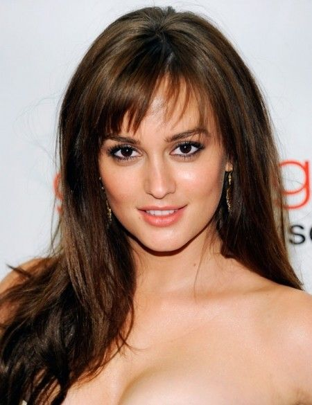 The Best Bangs For A Short Forehead Hair World Magazine Long
