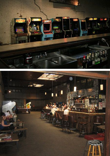 Barcade Brooklyn Ny Bar Et Jeux Arcade
