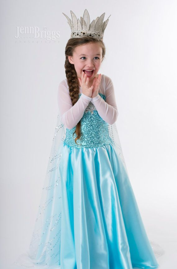 Frozen costume Elsa inspired costume 8 satin by primafashions $135.00 | costumes | Pinterest | Frozen costume Elsa and Costumes  sc 1 st  Pinterest & Frozen costume Elsa inspired costume 8 satin by primafashions ...