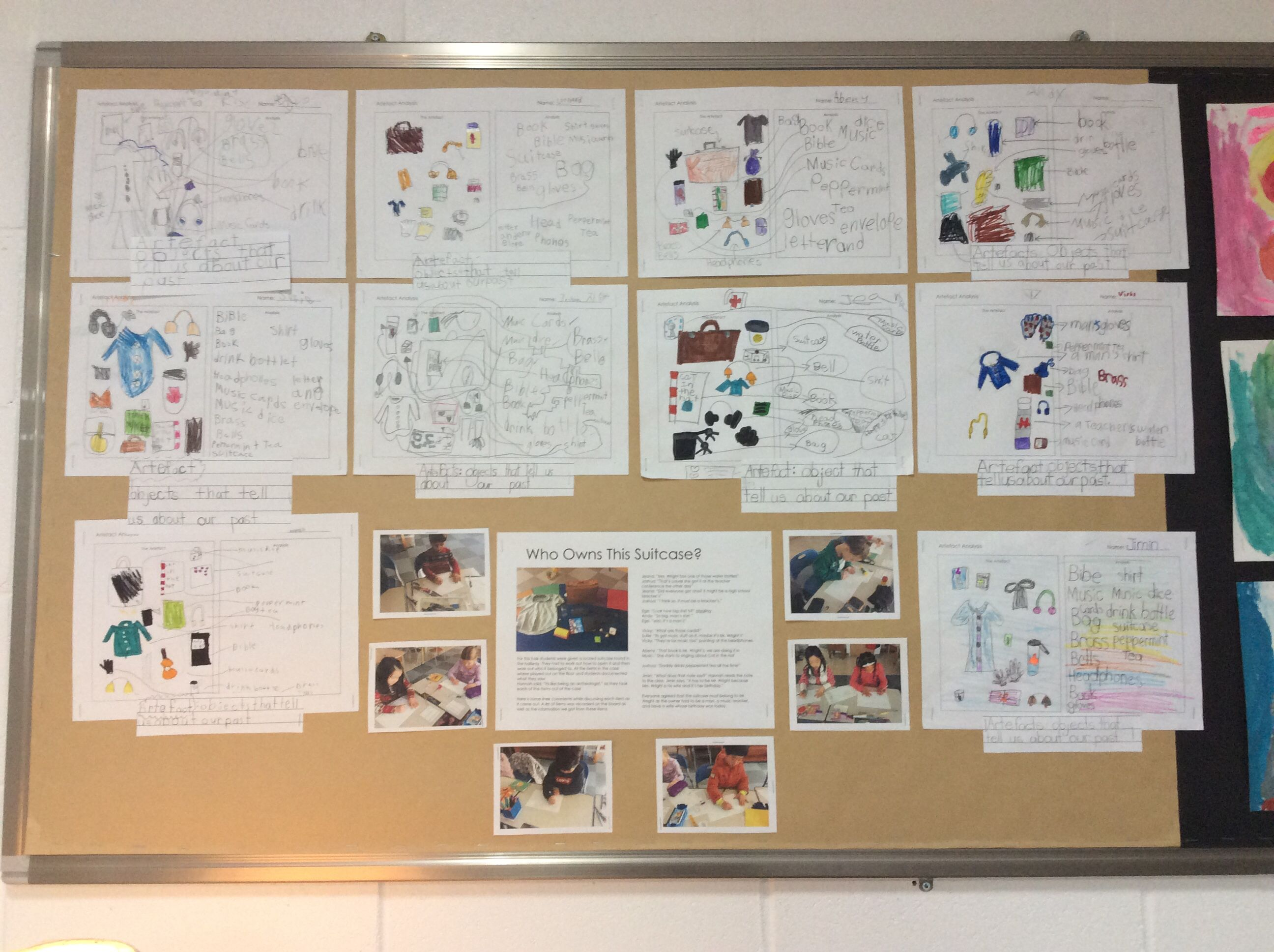 PYP Unit of Inquiry - Personal Histories: artefacts can tell us ...