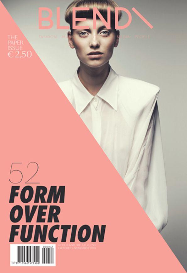 Blend Netherlands Magazine Layout Design Graphicdesign