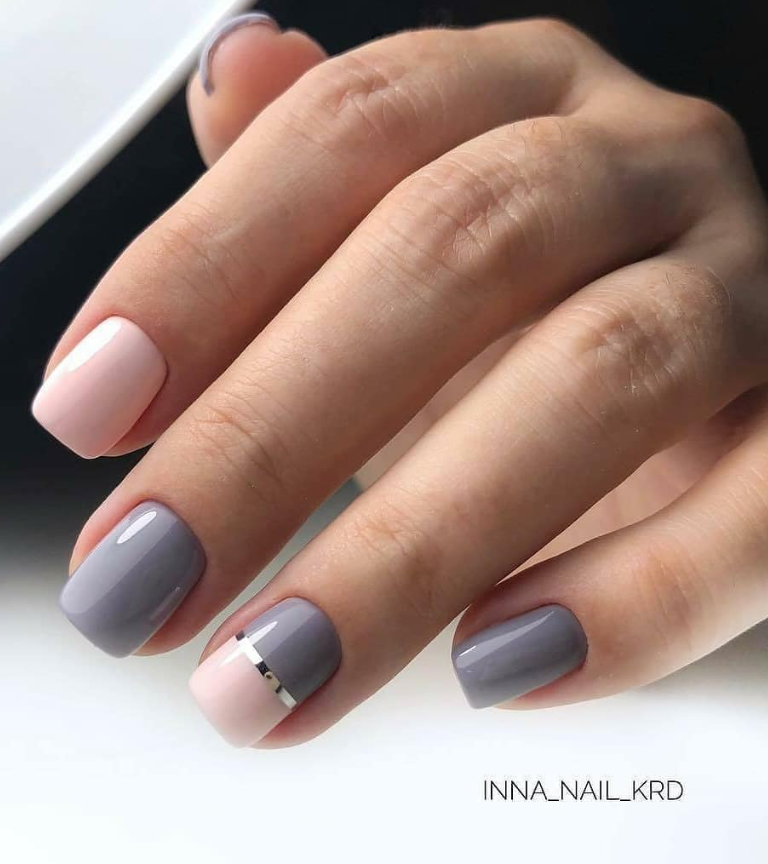50 Cute Short Acrylic Square Nails Design And Nail Color Ideas For Summer Nails Page 5 Of 51 Short Square Nails Square Nail Designs Square Nails