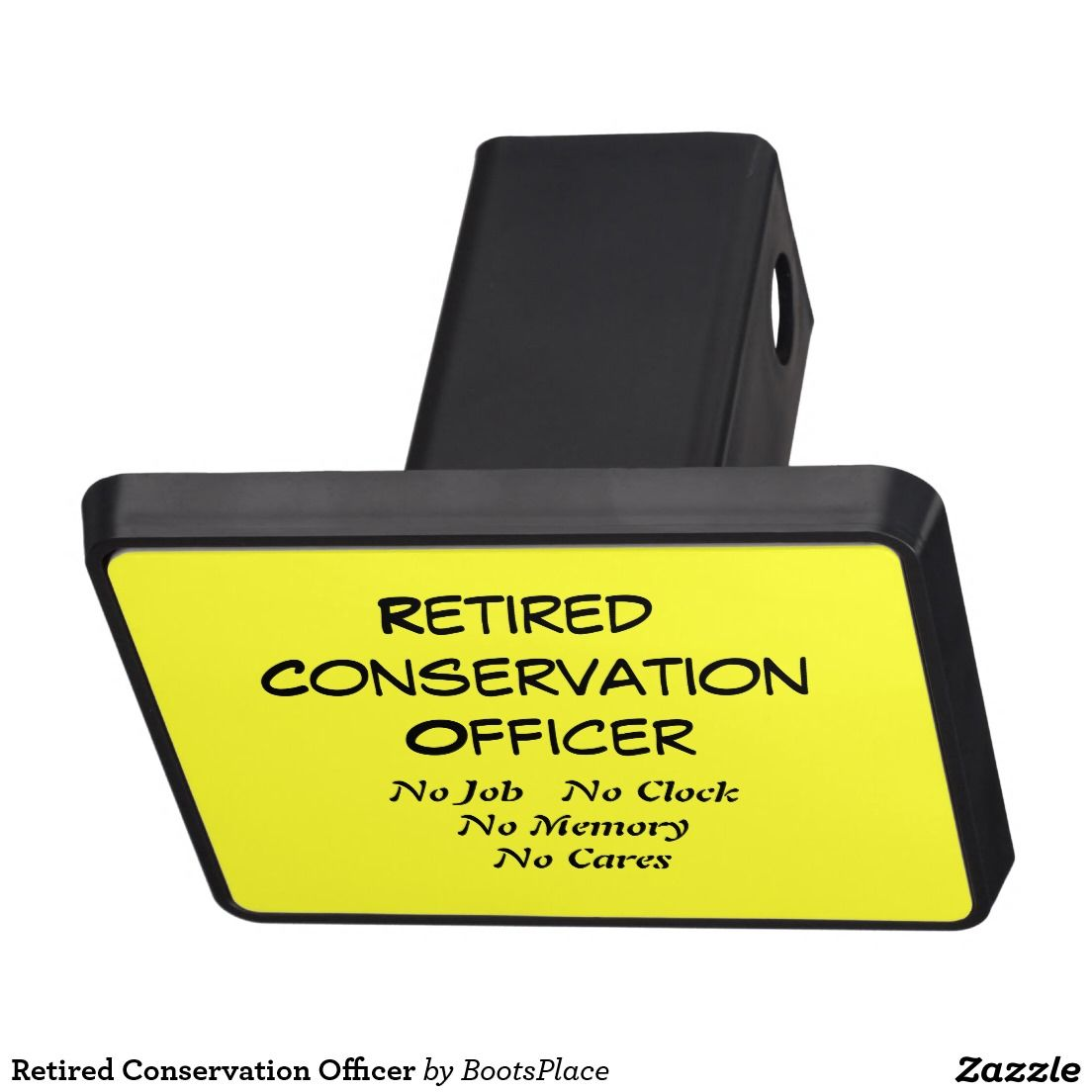 Retired Conservation Officer Hitch Covers