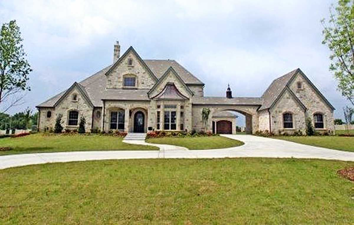 Plan 36337tx Stately Manor Home Plan Brick Exterior House Luxury House Plans French Country House Plans