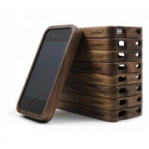 Image of Cool Retro Walnut Wood iPhone Case for Iphone 4/4s/5