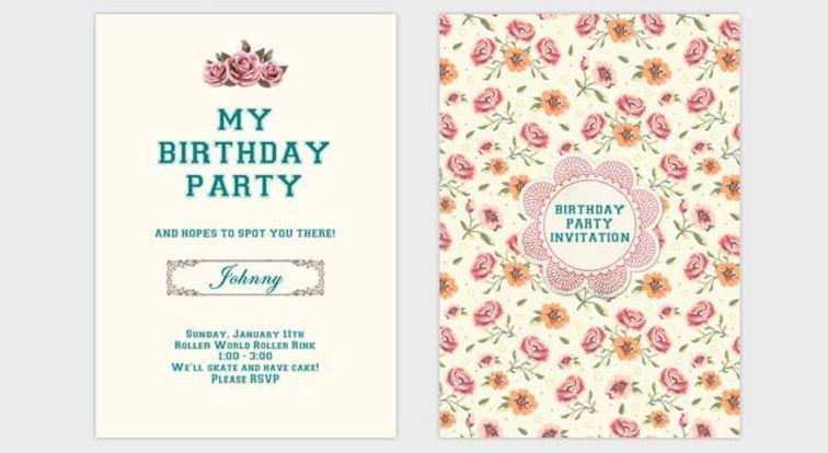 How To Make Birthday Invitations Card Party Invitation