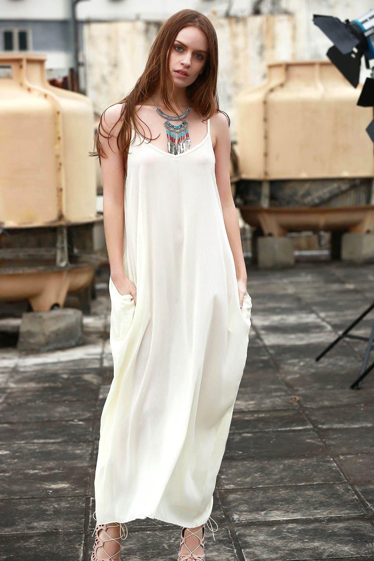 Red print round neck short sleeve maxi dress maxi dresses on and boho