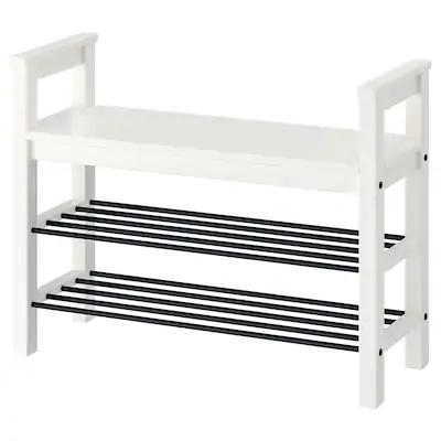 Clothes Shoe Racks Ikea Bench With Shoe Storage Shoe Storage White Hemnes