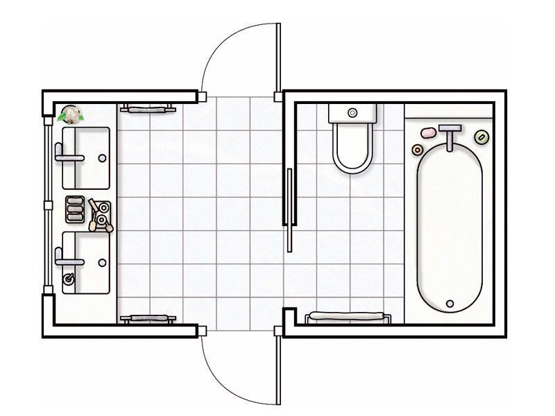 Micasa Revista De Decoración Ideas Y Trucos Para Decorar Tu Casa Planos De Baños Diseño De Baños Distribución Del Baño