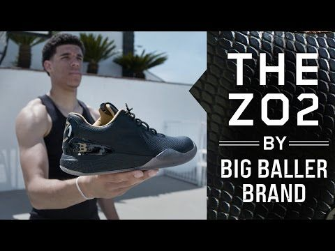 Lonzo Ball Debuts His Signature Shoe, the by Big Baller Brand