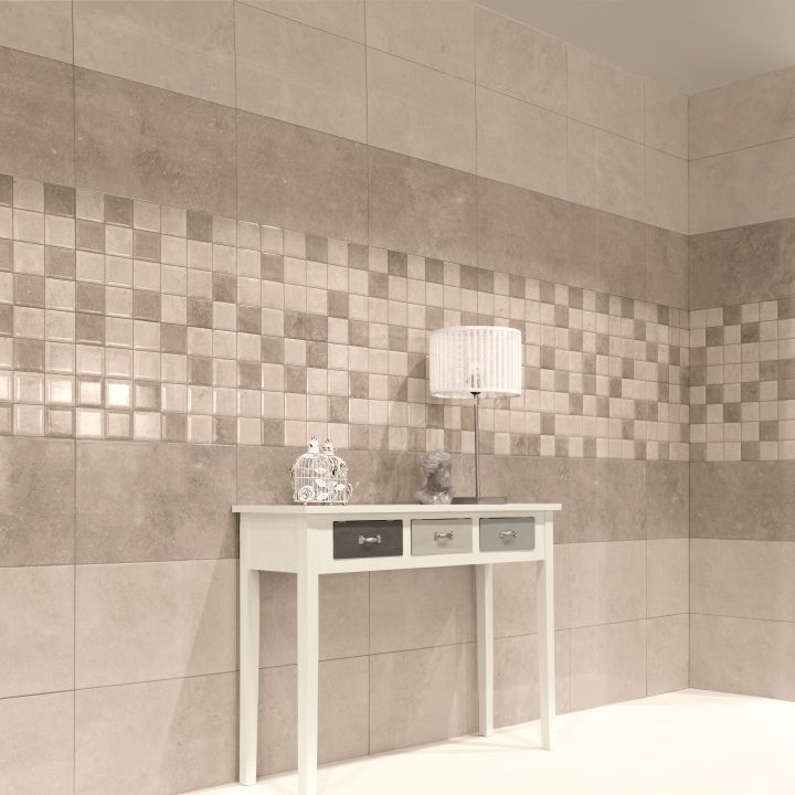The Fama beige wall tiles are perfect for beige bathroom tiles or ...