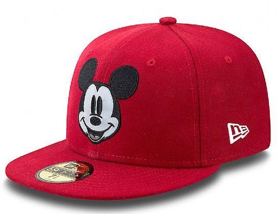 b026005e1b67 Custom Mickey 59Fifty Fitted Baseball Cap By DISNEY x NEW ERA ...