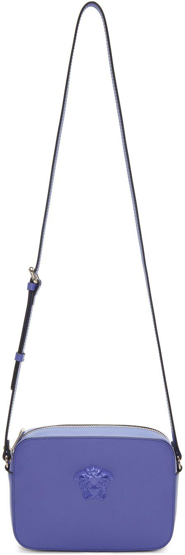 020e036132 competitive price 01ca5 f34d2 versace blue medusa camera bag ...
