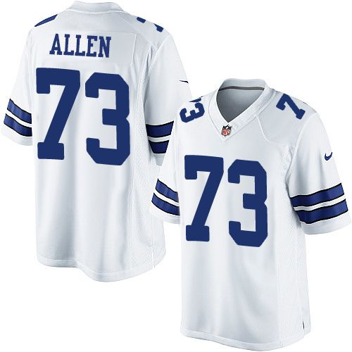 8b8708fcf Nike Limited Larry Allen White Men s Jersey - Dallas Cowboys  73 NFL Road