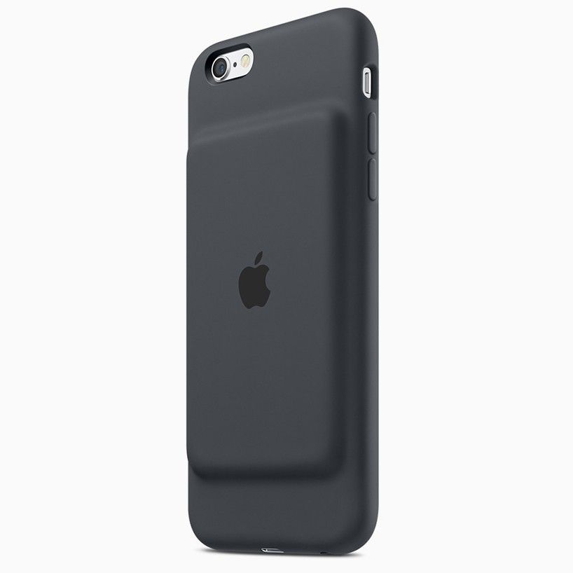 Apple Smart Battery Case Offers Up To 25 Extra Talking Hours To Iphone 6 Models Battery Cases Iphone Battery Iphone