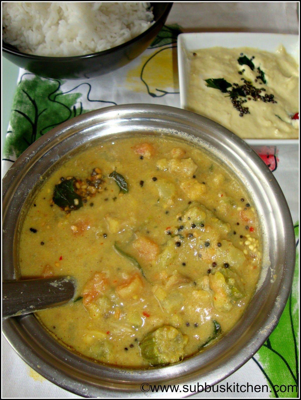 Poricha Kuzhambu Portiha Kuzhambu Indian Food Recipes Vegetarian Indian Food Recipes Vegetarian Recipes