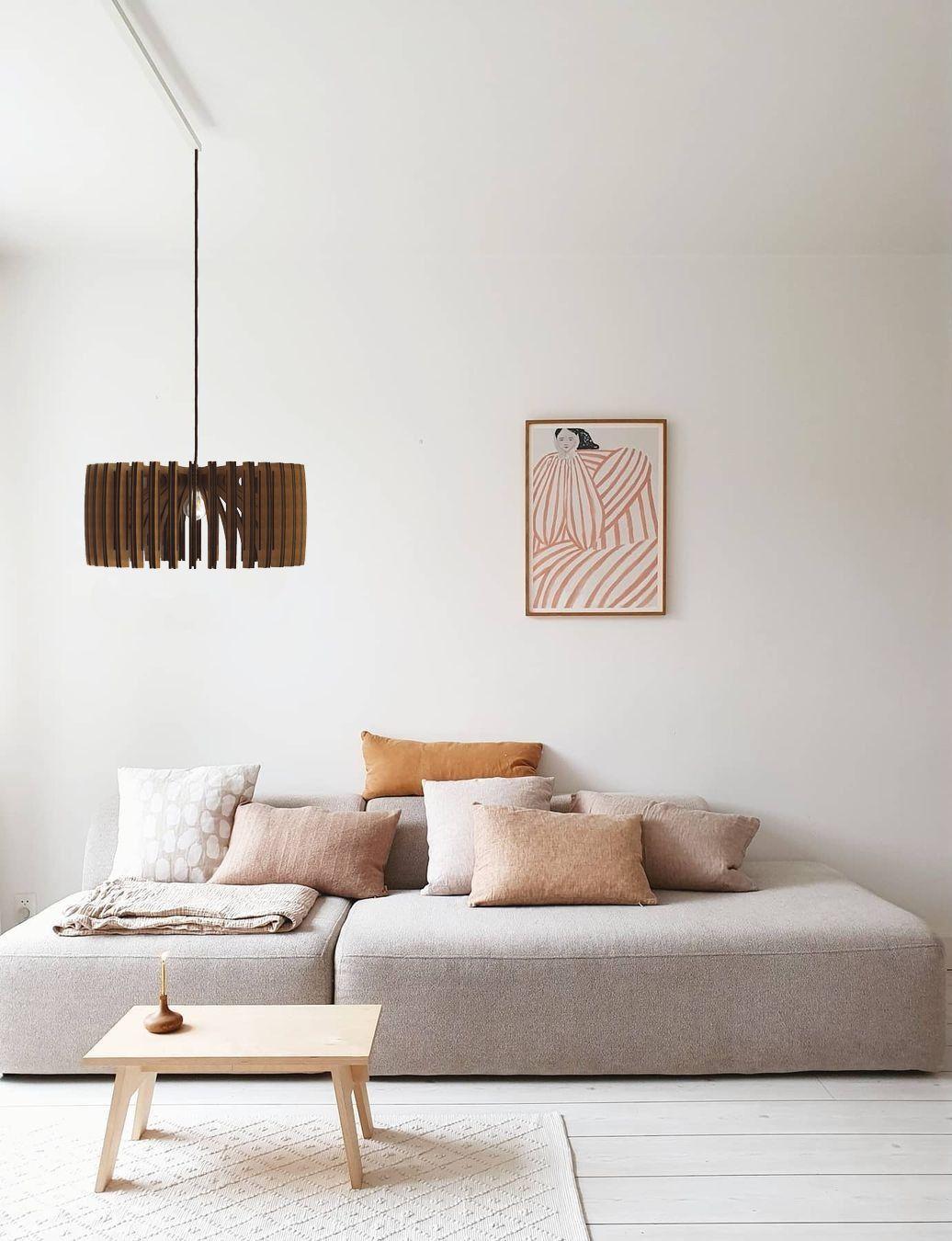 Interior Design Ideen und Inspiration für die Einrichtung von deinem Wohnzimmer oder Esszimmer sowie Deko und Möbel dafür. Von skandinavischem/nordic über minimalistisches und Industrie Design.
