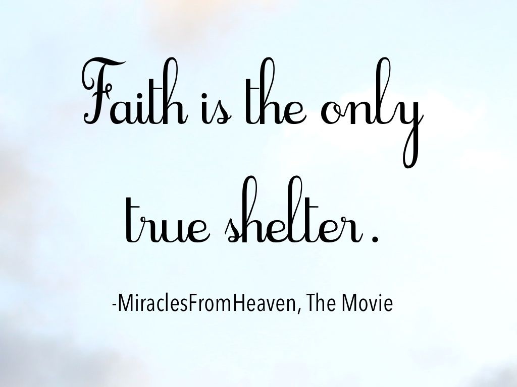 Image result for miracle from heaven quotes