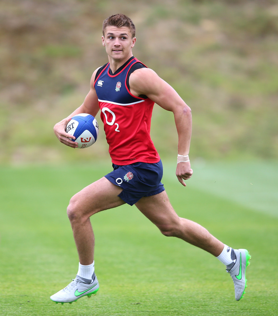 Green Rugby Player: England Rugby Team, Rugby