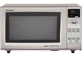 Sharp Silver Countertop Convection Microwave Oven R 820js 35
